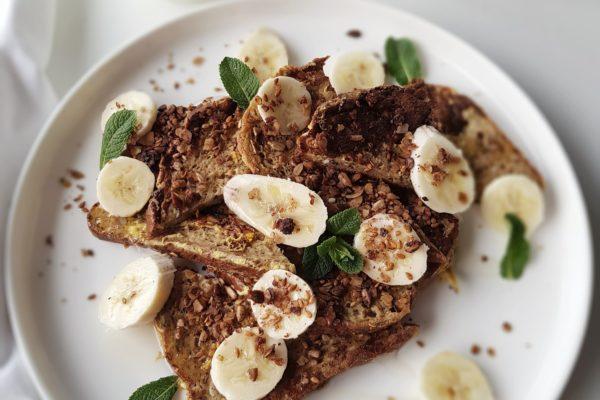 4x Ontbijten met granola