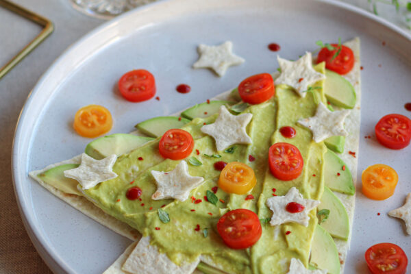 Kerstboom & gingerbreadman wrap knutselen voor kids